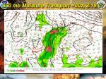 850 mb moisture transport 00z 8 19 07