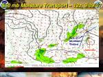850 mb moisture transport 12z 9 09 07