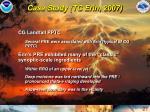 case study tc erin 2007