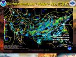 surface analysis radar 12z 9 09 07