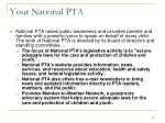 your national pta
