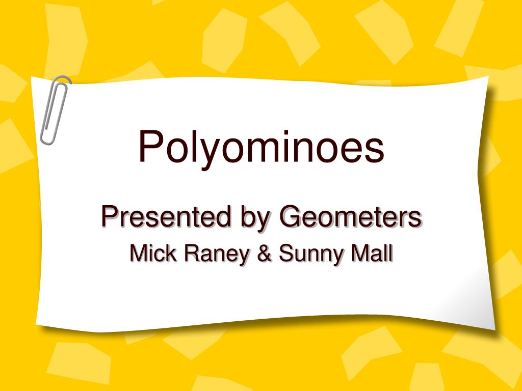 polyominoes l.