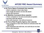 afcee pbc award summary7