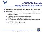 afcee pbc example langley afb 16 site closure