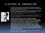 a history of imperialism4