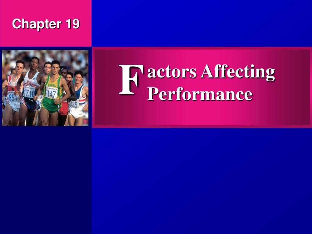 actors affecting performance l.