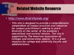 related website resource