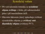 systolick volum