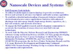 nanoscale devices and systems