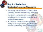 step 4 reduction strategies control measures