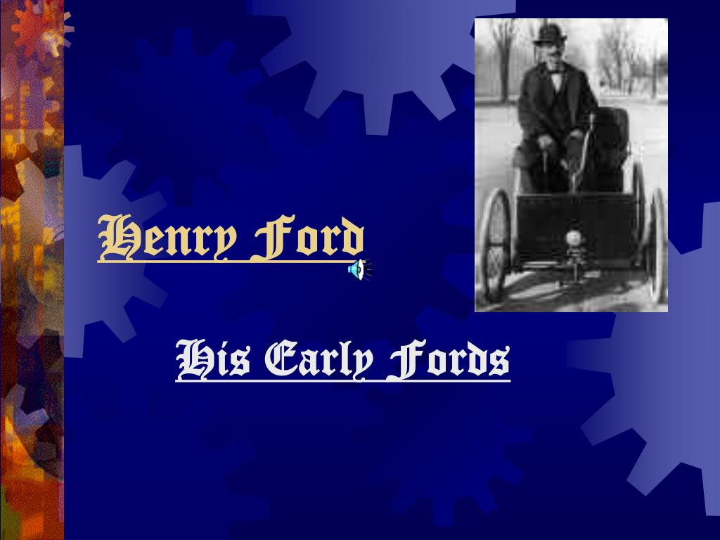 henry ford l.