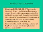 enzimi di fase i ossidazioni