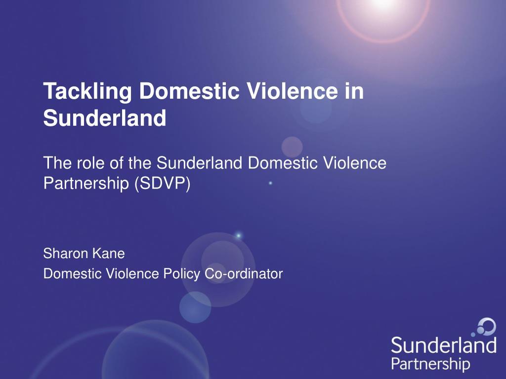 tackling domestic violence in sunderland l.