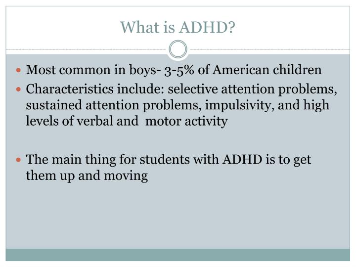 What is adhd3