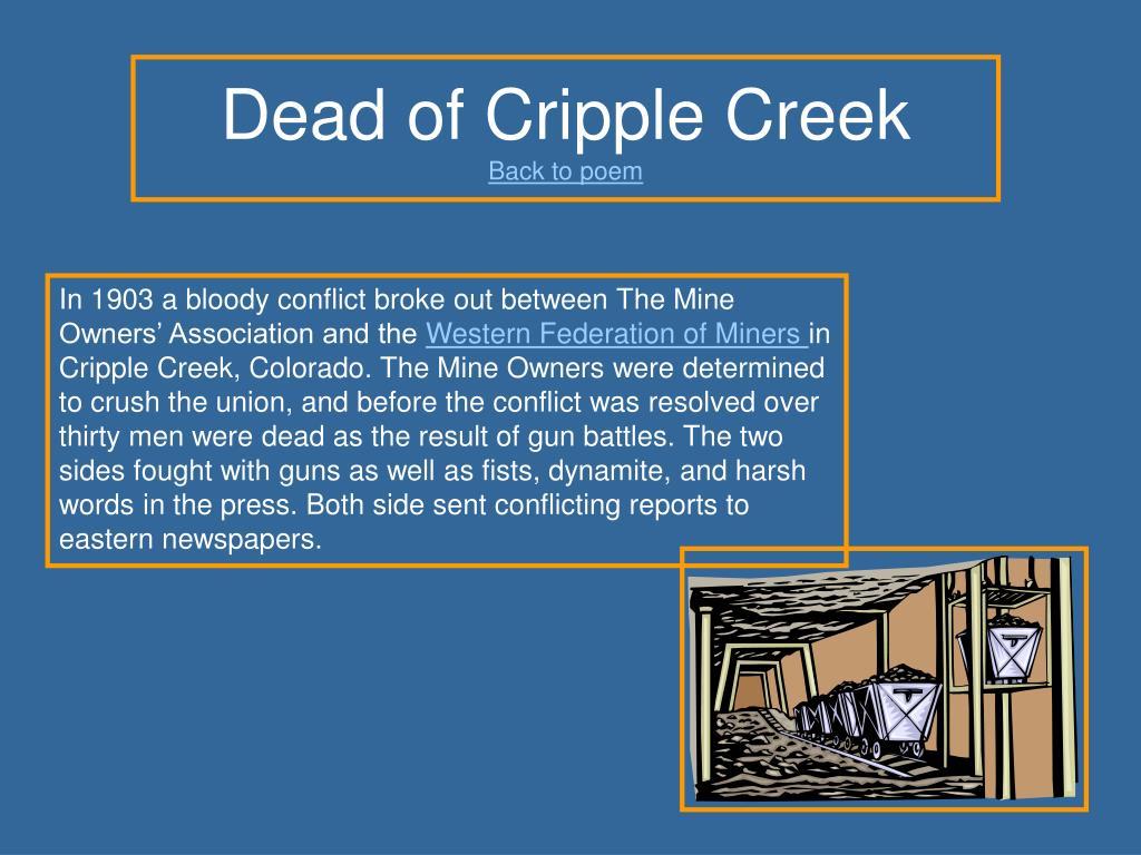 Dead of Cripple Creek