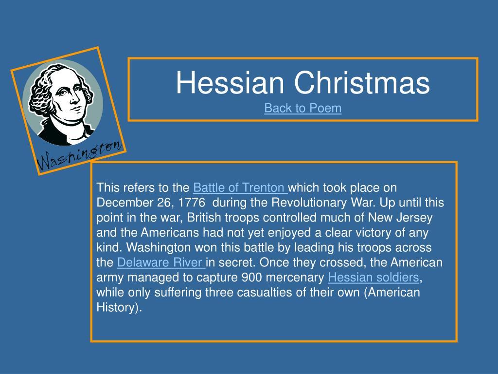 Hessian Christmas