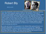 robert bly back to poem