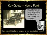 key quote henry ford