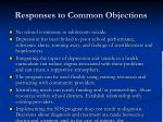 responses to common objections