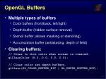 opengl buffers