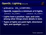 opengl lighting ch 5 p 178