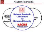 academic consortia36