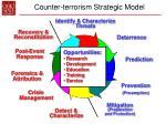 counter terrorism strategic model25
