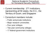 national academic consortium for homeland security nachs40