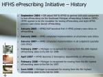 hfhs eprescribing initiative history