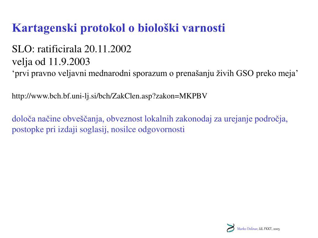 Kartagenski protokol o biološki varnosti