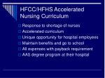 hfcc hfhs accelerated nursing curriculum