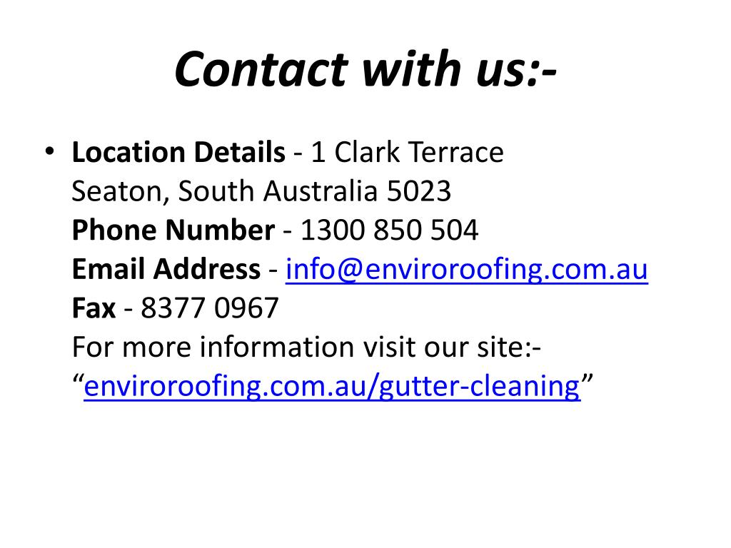 Contact with us:-