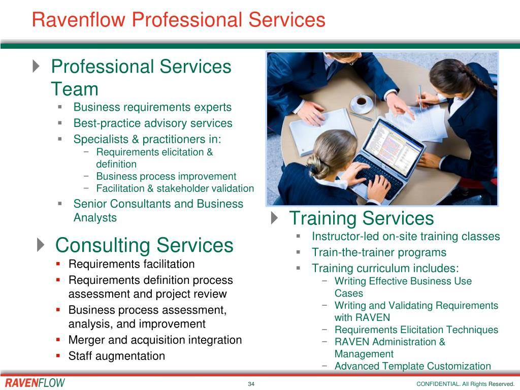 Ravenflow Professional Services