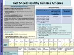 fact sheet healthy families america