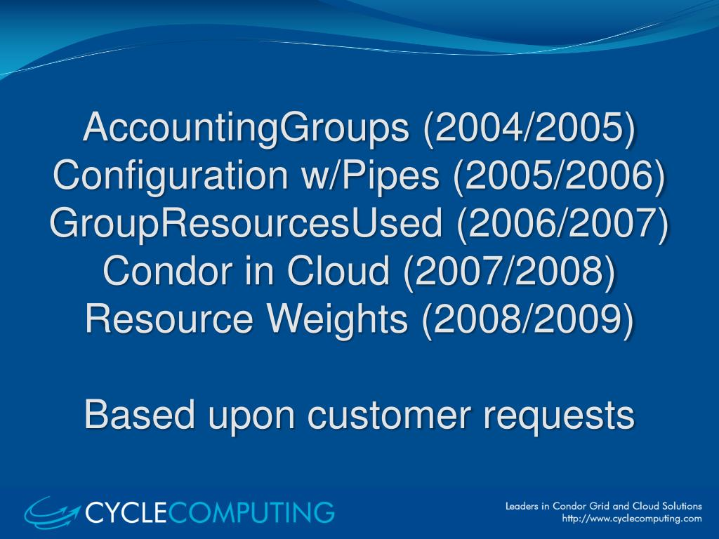 AccountingGroups
