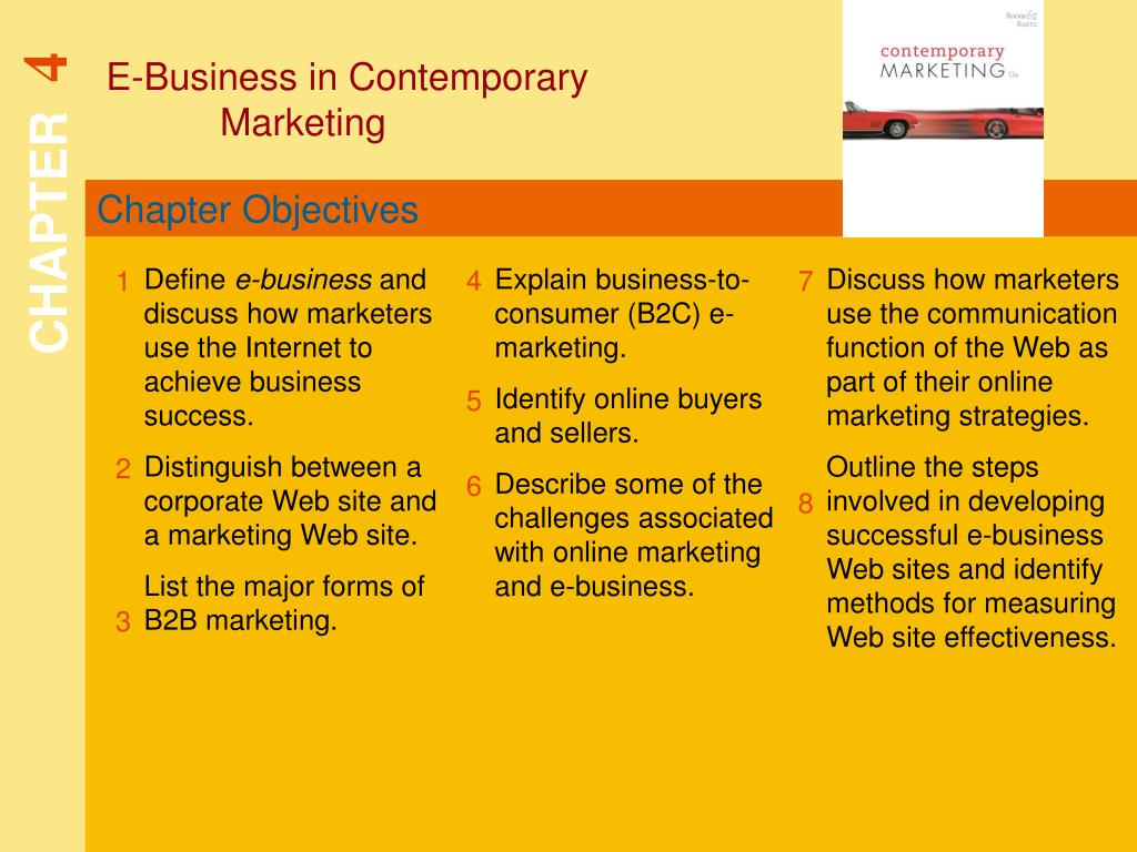 E-Business in Contemporary