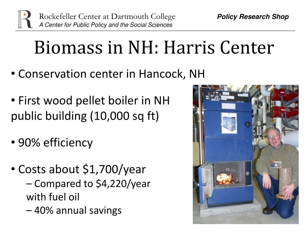 Biomass in NH: Harris Center