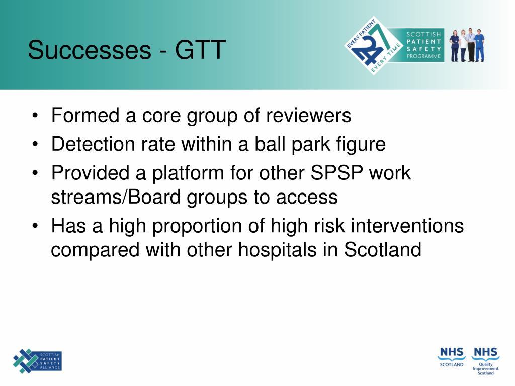 Successes - GTT