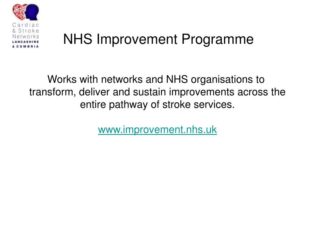 NHS Improvement Programme