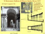 f borromini galleria di palazzo spada roma 1653
