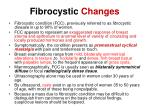 fibrocystic changes