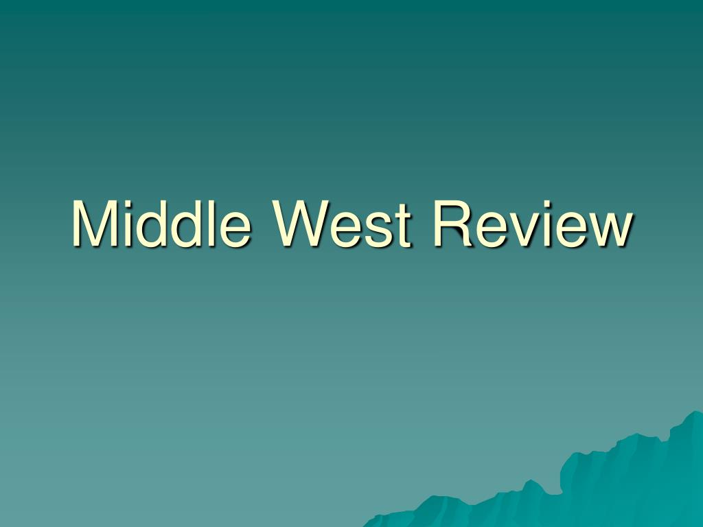 middle west review l.