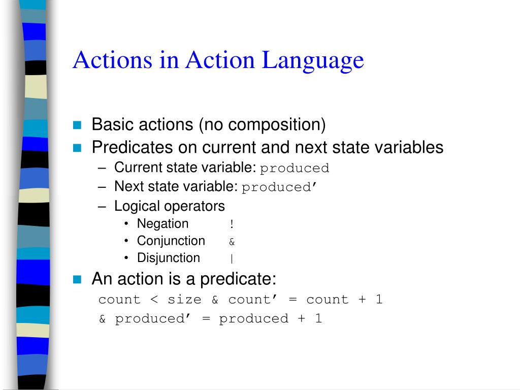 Actions in Action Language