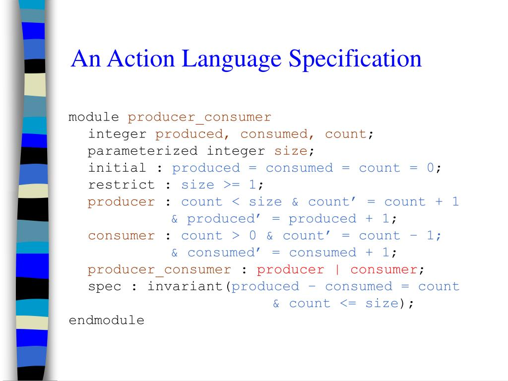 An Action Language Specification