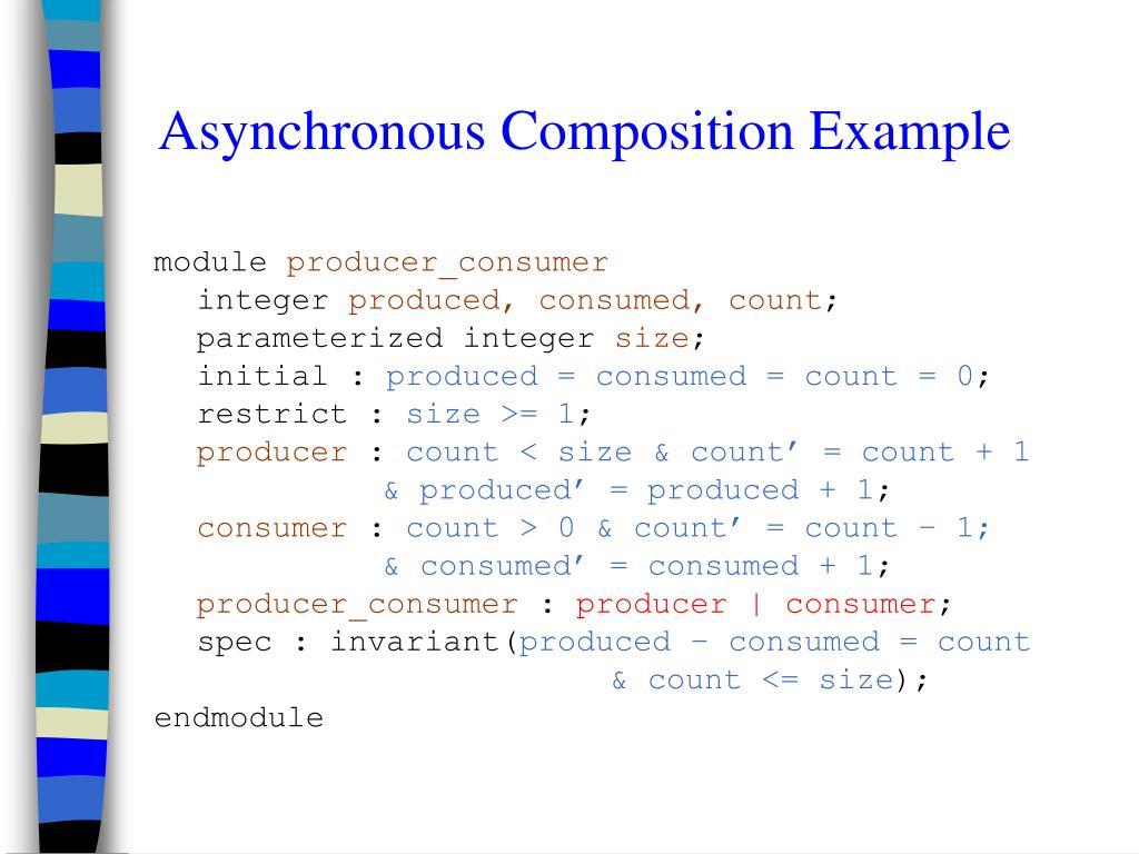 Asynchronous Composition Example