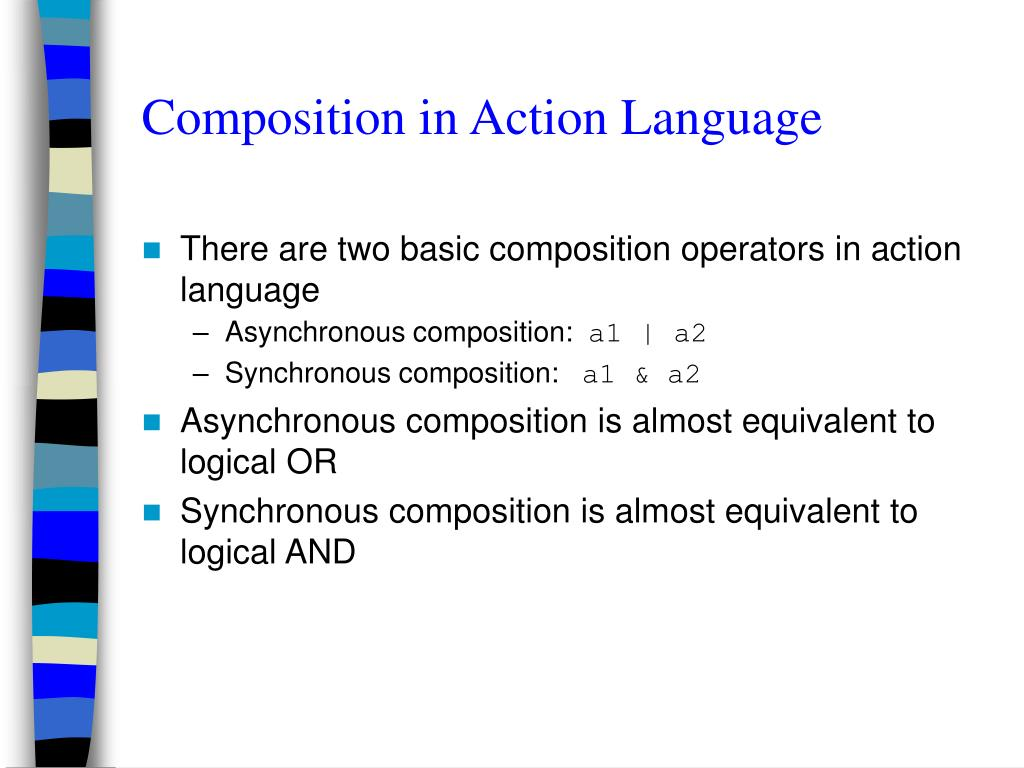 Composition in Action Language