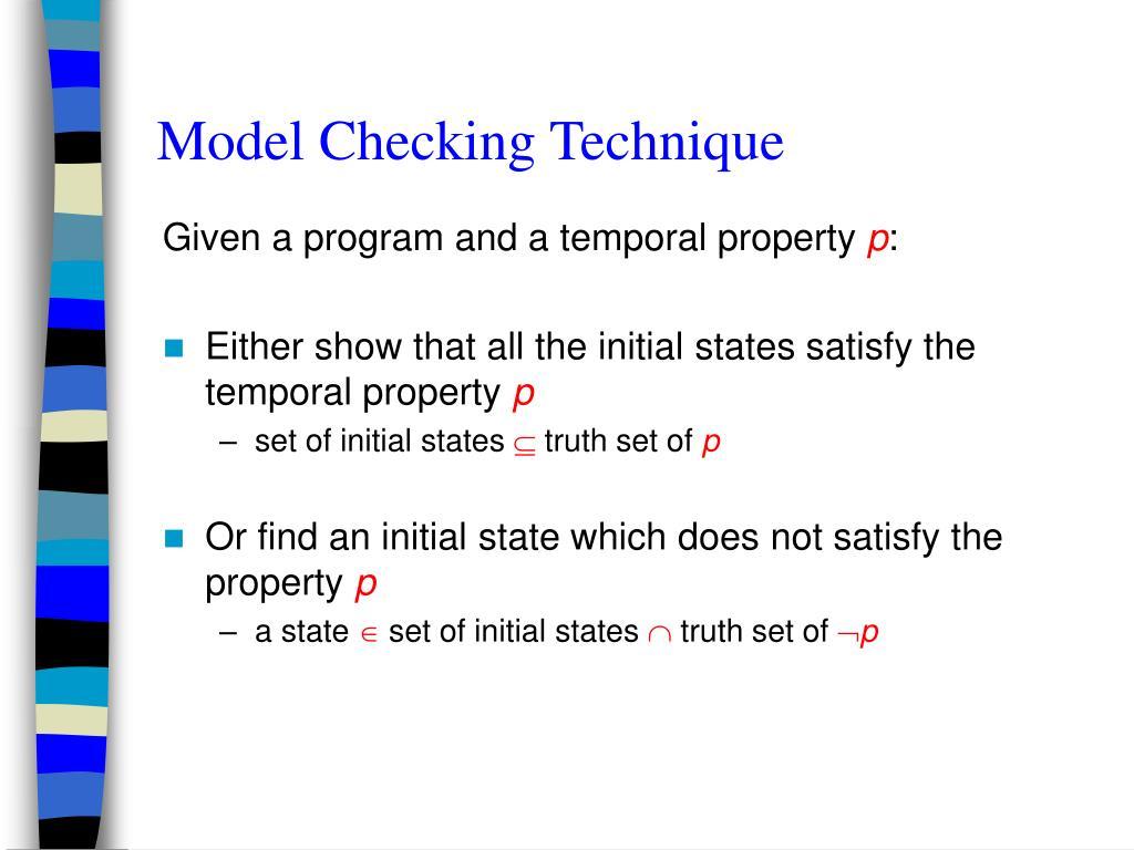 Model Checking Technique