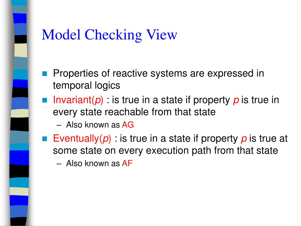 Model Checking View