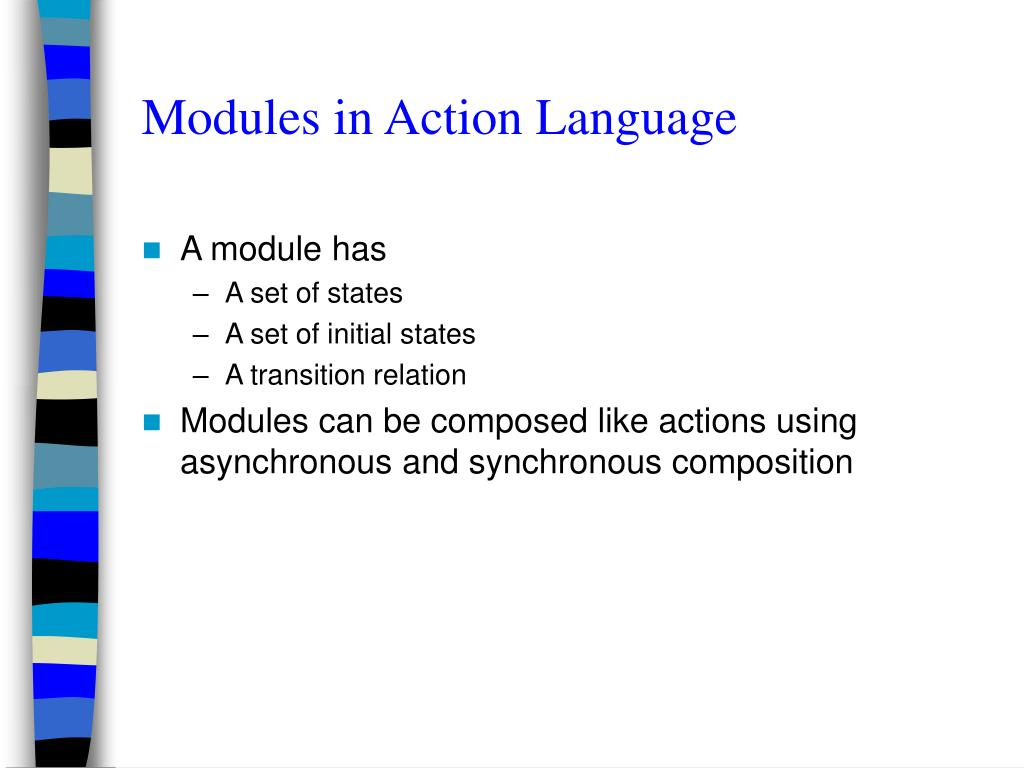 Modules in Action Language