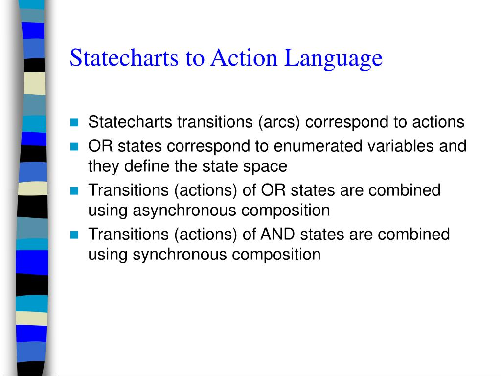 Statecharts to Action Language